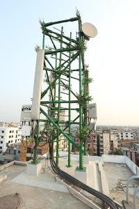 Bamboo-Telecom-Tower