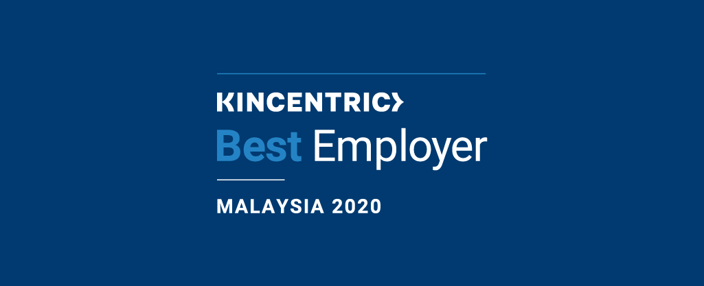 Kincentric Best Employers Malaysia 2020 recognizes five outstanding organizations